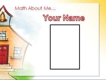 Math About Me Back to School PPT