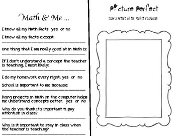 Math About Me - Book