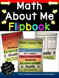 All About Me Math Flip Book