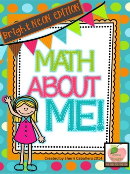 Math About Me Lessons to Supplement to Morning Meetings