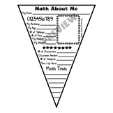 All About Me Math