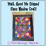 Math About Me Stained Glass Window Craft