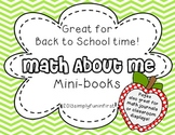 Math About Me Mini-Book {Great for Back-to-School or any time of year!}