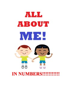 Math About Me...in Numbers!
