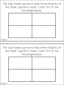 Math About the Sun Book