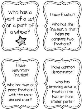 Math Academic Vocabulary: Common Core Fractions Word Wall and Activities (PINK)