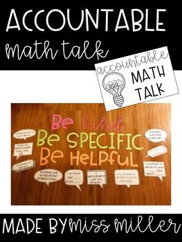 Math Accountable Talk