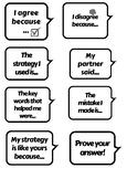 Math Accountable Talk Cards