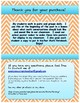 Math Accountable Talk Poster Set - Turquoise & Orange