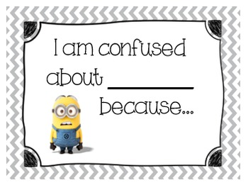 Math Accountable Talk Posters - Minions
