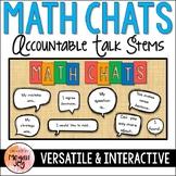 Math Chats - Accountable Talk Stems