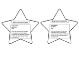 Math Achievement Award