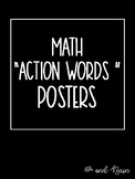"Math ""Action Words"" Posters"