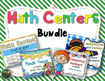 Math Centers: Task Cards
