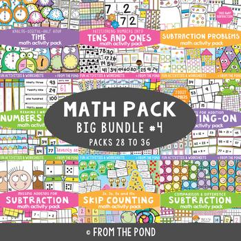 Math Activities Big Bundle 4