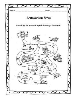Math Activities Bundle #1
