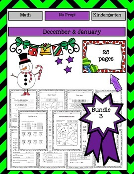Math Activities Bundle #3