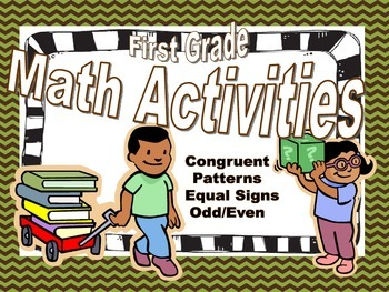 Congruent, Patterns, Equal Signs, Odd & Even
