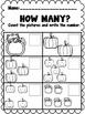 Math Activities-Fall