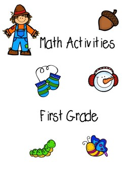 Math Activities - Fall, Winter, and Spring Theme!