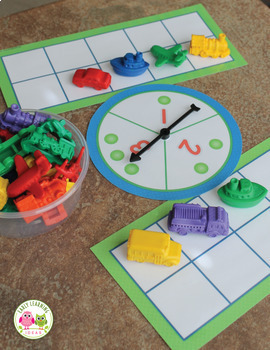 Frame Counting and Number Activities for Preschool, Pre-K and ...