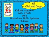 Math Activities - Kiddos Connect ALL YEAR with Marvelous M