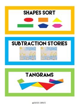 Math Activities Kit