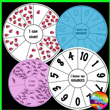 Kinder Math Counting Activities Numbers 0-10