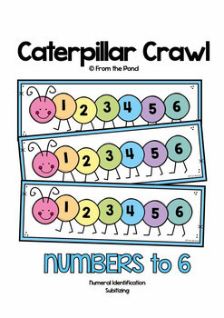Math Games and Activities Pack 2 {Numbers 0 to 6}