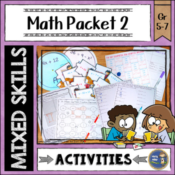 Math Activities Packet 2