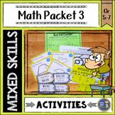 Math Activities Packet 3