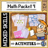 Math Activities Packet 4