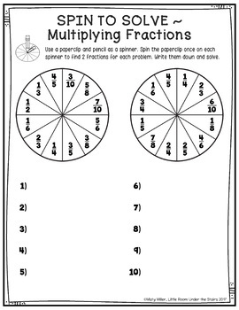 Math Activities Packet 5