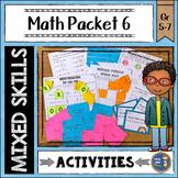 Math Activities Packet 6