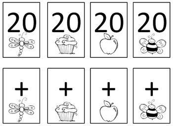 Math Game Cards