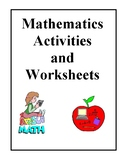 Math Activities and Worksheets