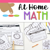Math Activities at Home - Distance Learning