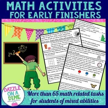 Early Finishers - Math