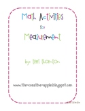 Math Activities for Measurement