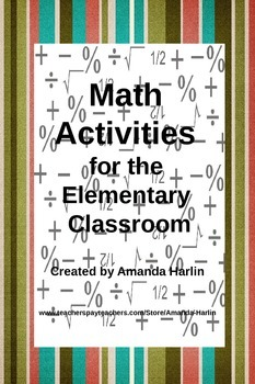 Math Activities for the Elementary Classroom