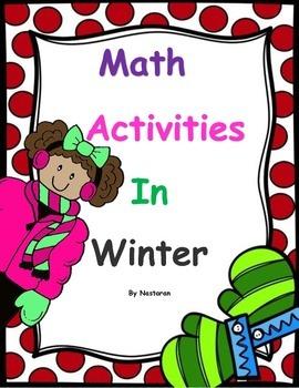 Math Activities In Winter