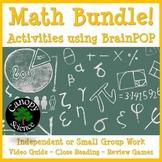 Math Bundle! Activities using BrainPOP