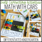 Math Activities with Cars-Counting, Making 10, Addition, S