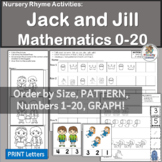 Nursery Rhymes Number Activities: Jack and Jill Math