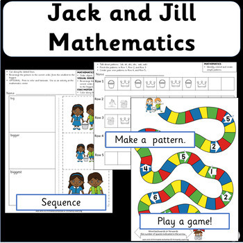 Math Activities with Nursery Rhymes - Jack and Jill Math (SASSOON)