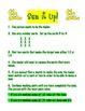 Math Activities/Games - direction sheets