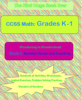 Math Activities Book for Grades K - 1
