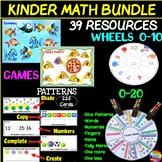 Math Activity Bundle Activities for KINDER