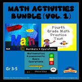 Math Activities Bundle (Vol.1)