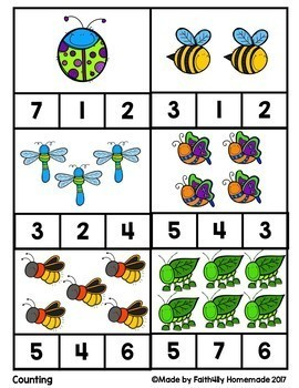 Math Activity Cards_Set #1